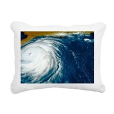 Hurricane Floyd Rectangular Canvas Pillow