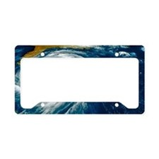 Hurricane Floyd License Plate Holder