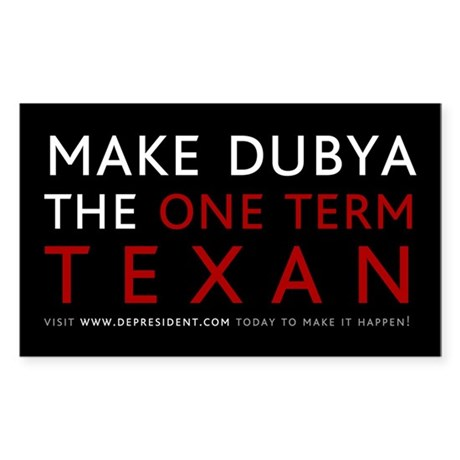 One term Texan (Black)
