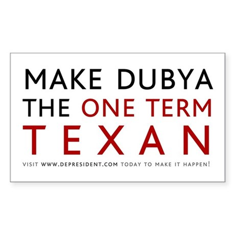 One term Texan (White)