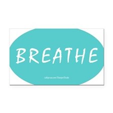 Breathe Magnet Rectangle Car Magnet
