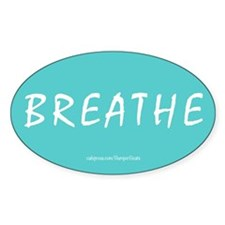 Breathe Magnet Bumper Stickers