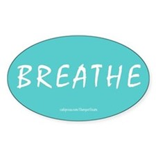 Breathe Magnet Stickers
