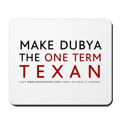 One term Texan