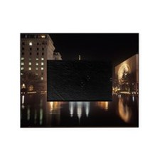 Mormon Temple at night in Salt Lake  Picture Frame