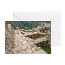 Machu Picchu, Peru Greeting Card