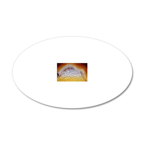 Geode interior 20x12 Oval Wall Decal
