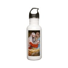 The birth of Jesus Stainless Steel Water Bottle