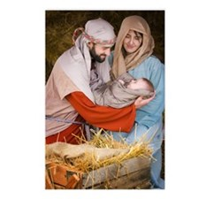 The birth of Jesus Postcards (Package of 8)