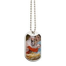 The birth of Jesus Dog Tags