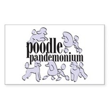 Pandemonium Rectangle Decal
