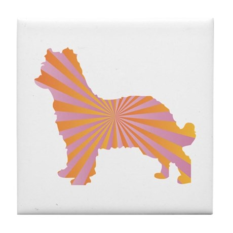 Shepherd Rays Tile Coaster