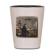 John Dee and Edward Kelly Shot Glass