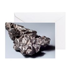Iron meteorite fragment Greeting Card