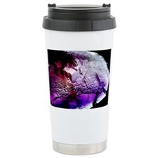 Fluorite cubic crystals Ceramic Travel Mug