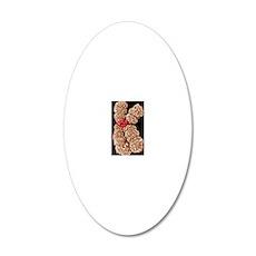 Human chromosome 10, SEM 20x12 Oval Wall Decal