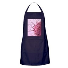 Human fertilisation, artwork Apron (dark)