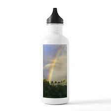 Rainbow on Kauai Sports Water Bottle