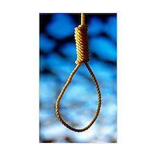 Hangman's noose Decal