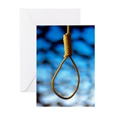 Hangman's noose Greeting Card