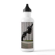 Gun sculpture at Unite Sports Water Bottle