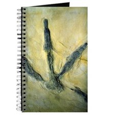 Dinosaur footprint Journal