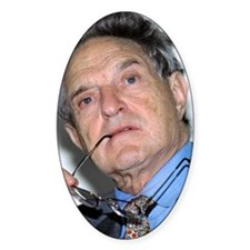 George Soros, Hungarian-US financie Decal