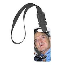 George Soros, Hungarian-US finan Luggage Tag