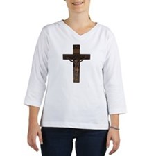 23541955 Women's Long Sleeve Shirt (3/4 Sleeve)