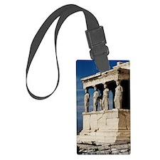 Temple of Athena at Parthenon Luggage Tag