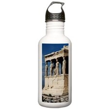 Temple of Athena at Pa Water Bottle