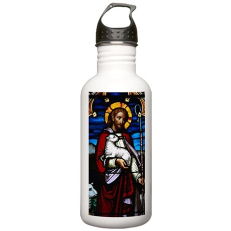 Stained glass, Saint A Stainless Water Bottle 1.0L