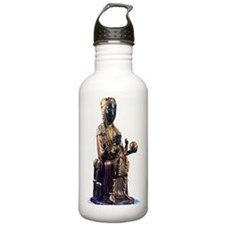 Black Madonna statuett Water Bottle