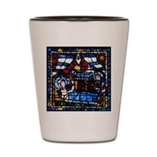 Stained glass window from the Cathedral Shot Glass