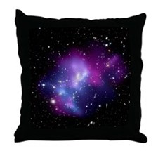 Galaxy cluster MACS J0717 Throw Pillow