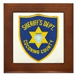 Coconino County Sheriff Framed Tile