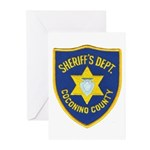 Coconino County Sheriff Greeting Cards (Pk of 10)
