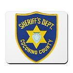 Coconino Sheriff Mousepad
