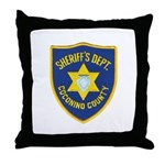 Coconino Sheriff Throw Pillow