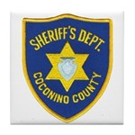 Coconino County Sheriff Tile Coaster