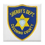 Coconino Sheriff Tile Coaster