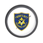 Coconino Sheriff Wall Clock