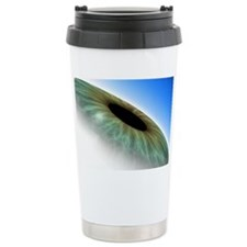 Eye, computer artwork Ceramic Travel Mug