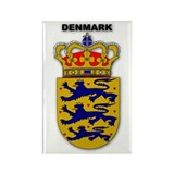 Denmark Rectangle Magnet