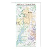 American Tobacco Trail Postcards (Package of 8)