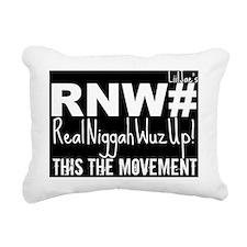 yo Rectangular Canvas Pillow