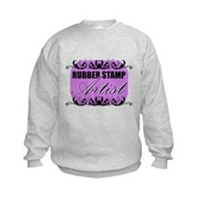 Rubber Stamp Artist Sweatshirt