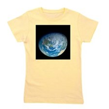 Earth from space, artwork Girl's Tee