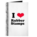 I Love Rubber Stamps Journal