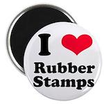 I Love Rubber Stamps Magnet